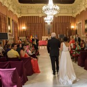 Fotos de Boda en el Ayuntamiento de Sevilla