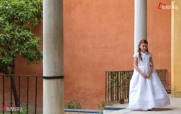 Reportaje de Primera Comunion en Sevilla, las fotos de Rocío