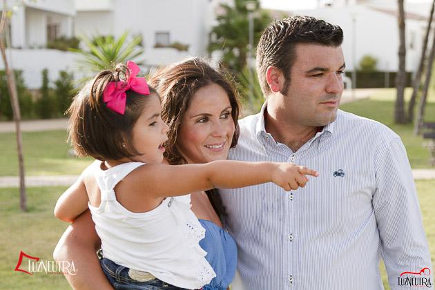 Fotos de Familia en la playa