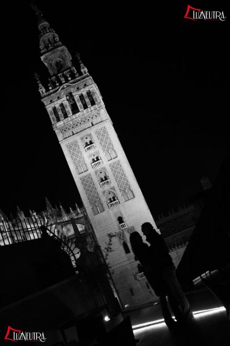 Fotos de Preboda en el centro de Sevilla