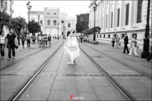 Fotos de Boda en el centro de Sevilla
