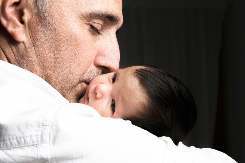 reportaje de embarazada y bebes
