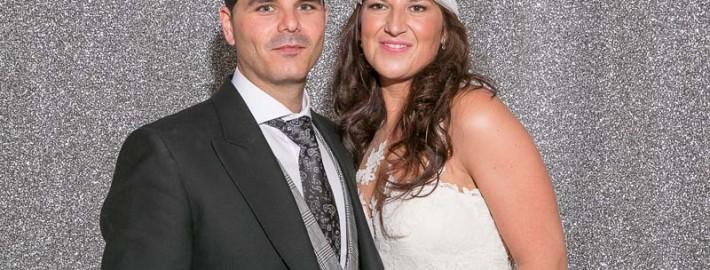fotografo de boda en sevilla, photocall bodas