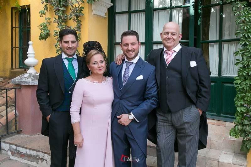 Fotos de Novia Sevilla