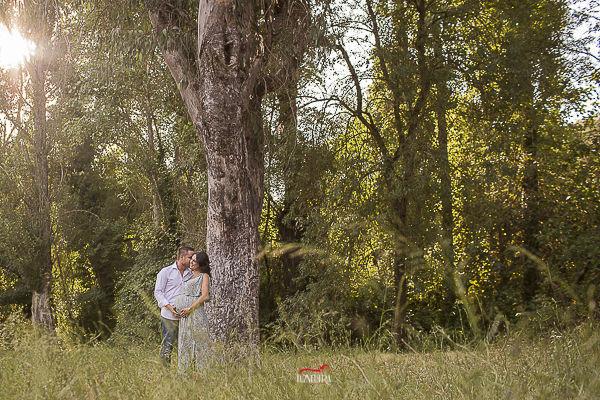 fotos de embarazada preciosas en el campo sevilla