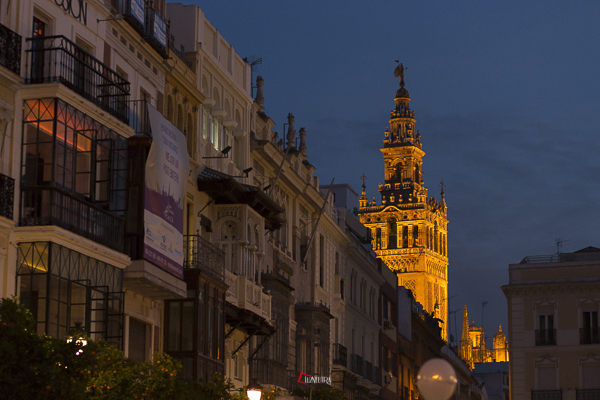 Fotos de preboda en Sevilla en navidad