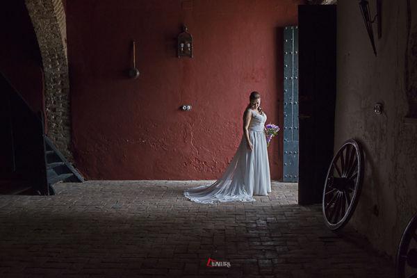 una novia a solas, belleza infinita