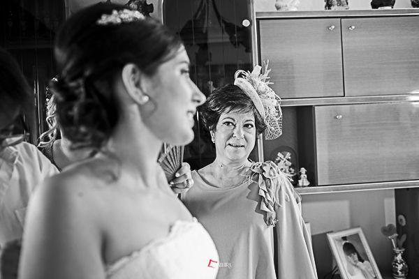 un momento irrepetible de la vida de una madre es el día de la boda de una hija