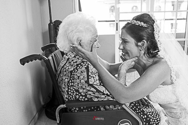 amor incondicional con la abuela de la novia