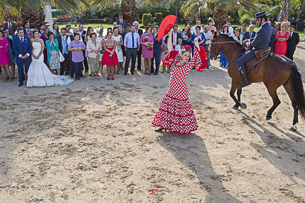 baile flamenco para una boda andaluza