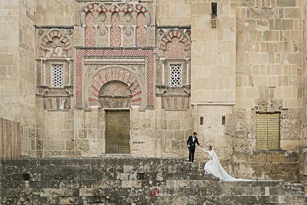 Córdoba es especialmente bonita para hacer fotos de boda