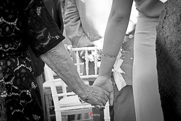 momentos únicos en la boda: las abuelas