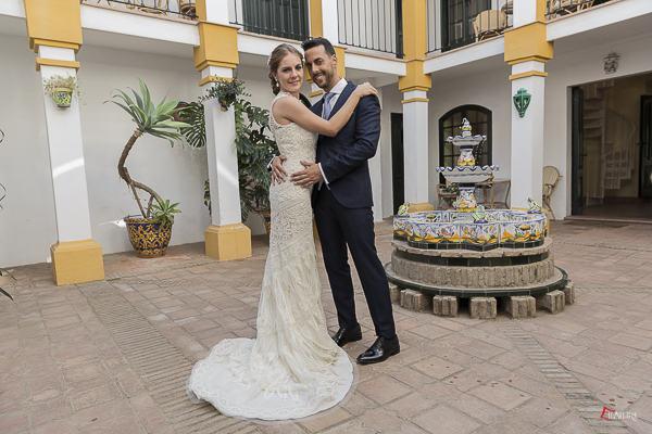el reportaje de fotos de la boda de ivan y Elo en Sevilla