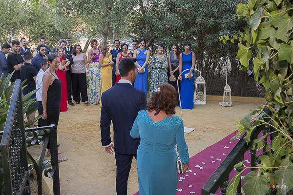 los preciosos momentos de la boda