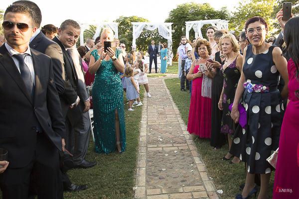 los momentos antes de la boda son muy emocionantes