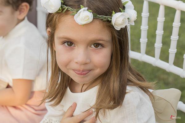 los vestidos de las mas pequeñas son sensación en una boda