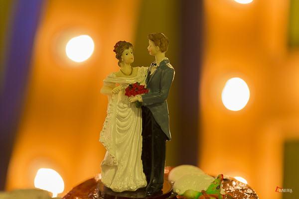 los muñequitos de la tarta de boda