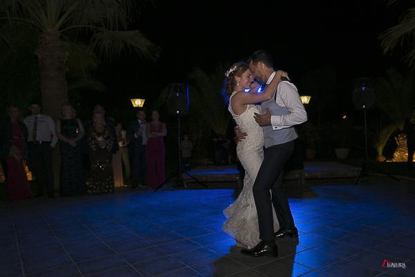 el baile nupcial, un bonito momento